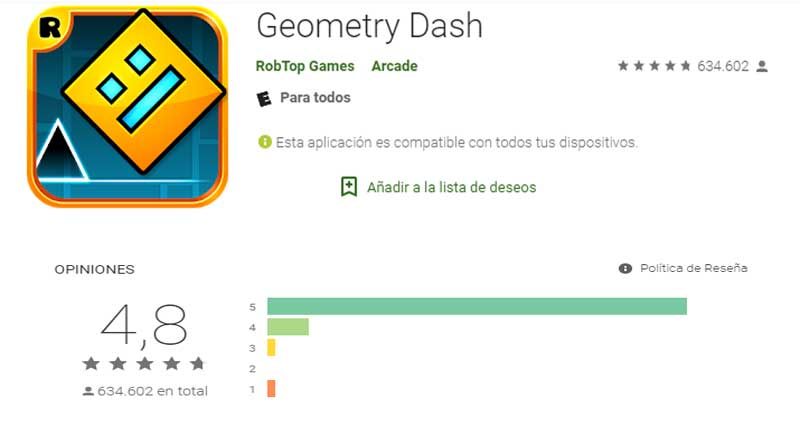 descargar geometry dash computadora